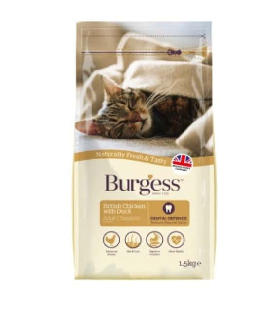 Burgess SUPACAT Adult Kylling/And 1,5kg
