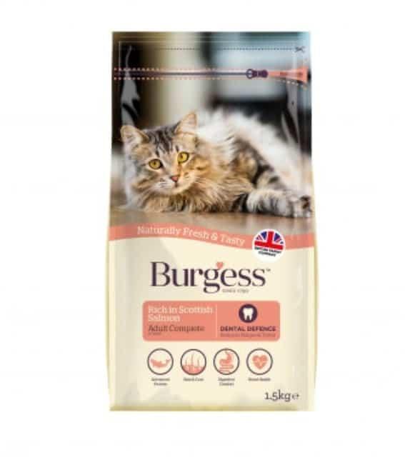 Burgess SUPACAT Adult Scottish Laks 1,5kg
