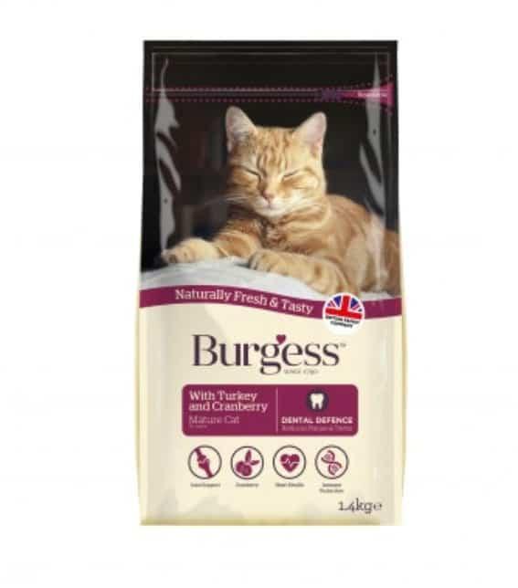 Burgess SUPACAT Mature 1,4kg