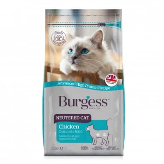 Burgess SUPACAT Neutered 1,5kg
