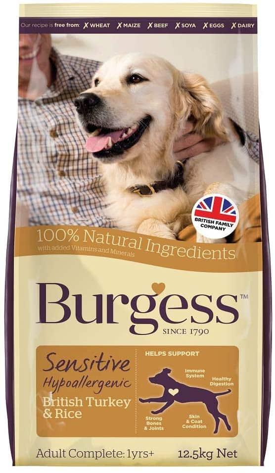 Burgess SENSITIVE Adult Kalkun/ris