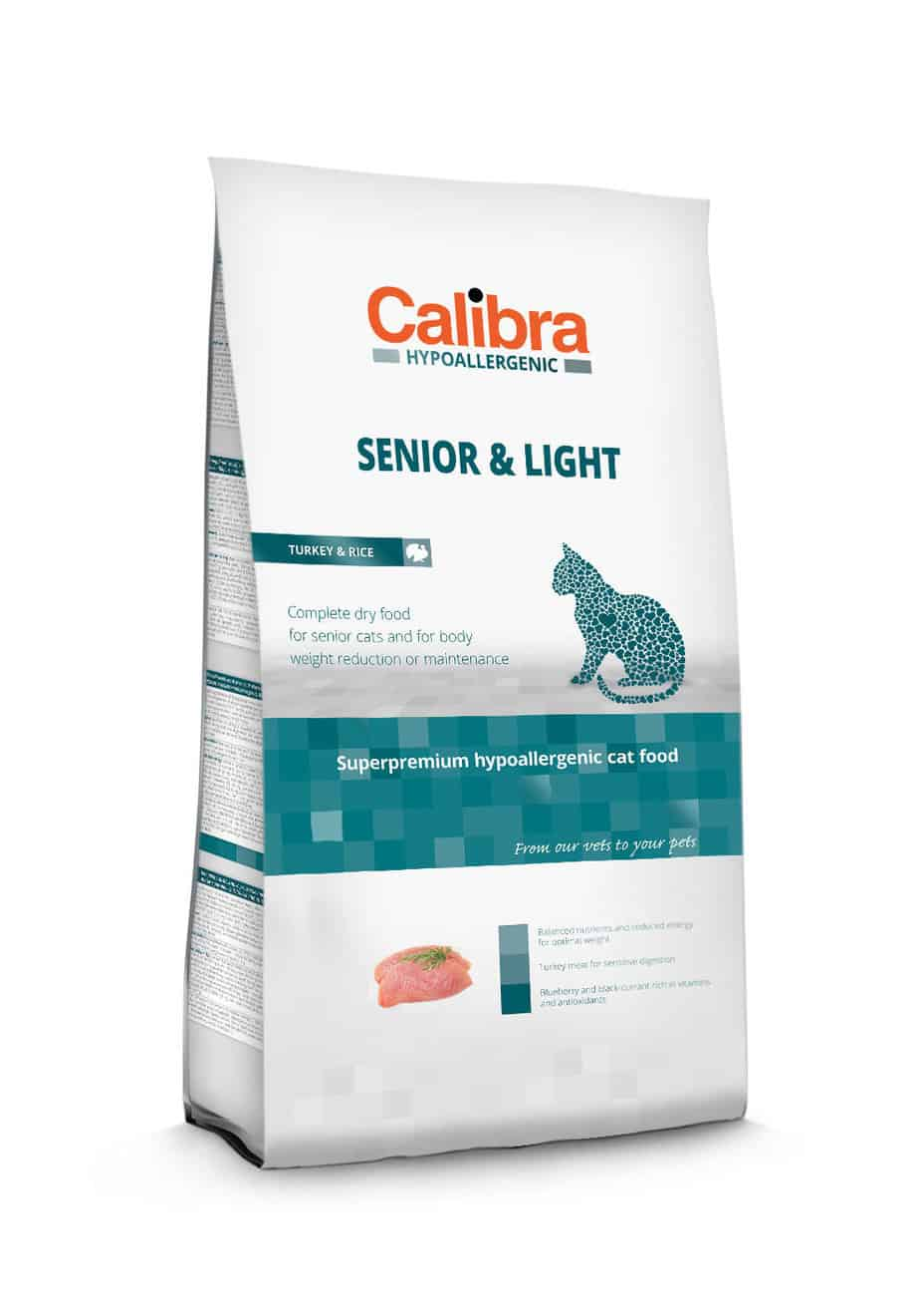 Calibra Cat Hypoallergenic Senior & Light / Turkey & Rice