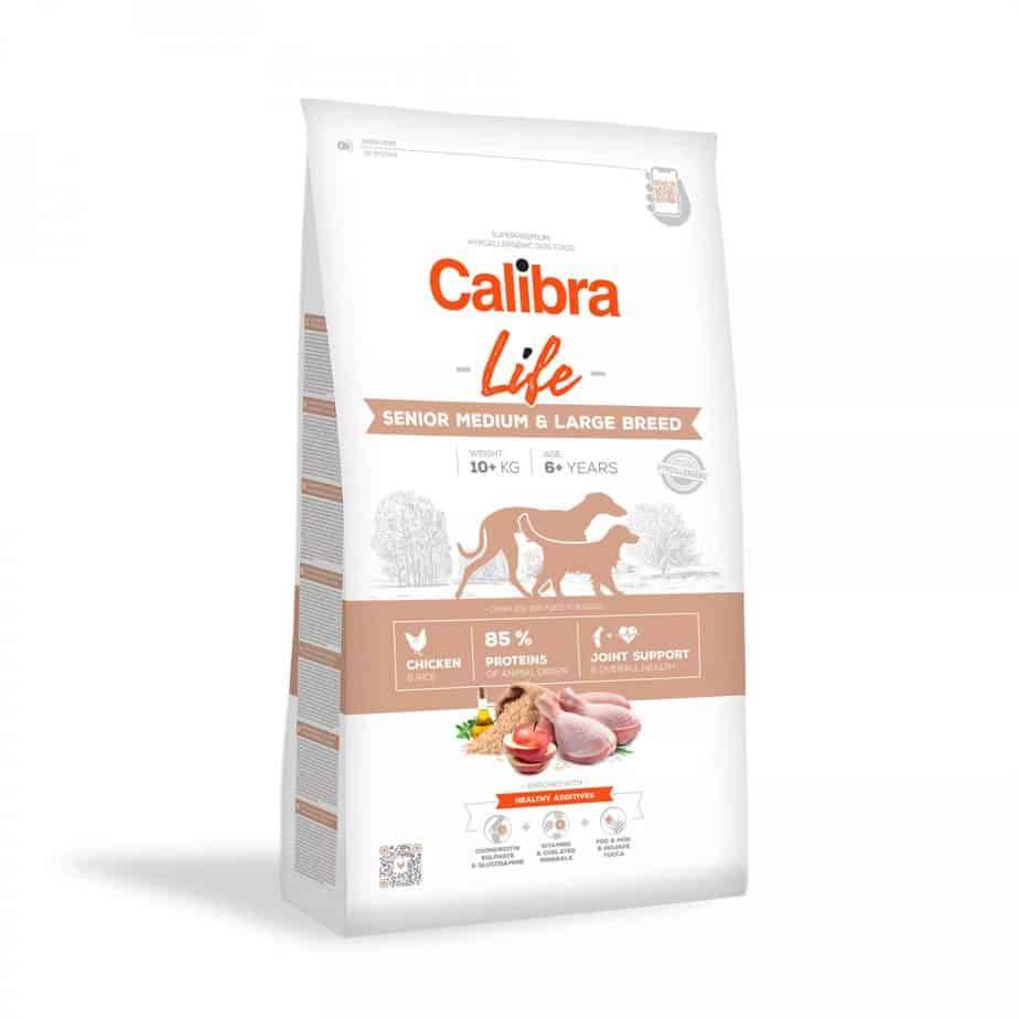 CCalibra Life Senior Medium&Large Chicken - hundefoder