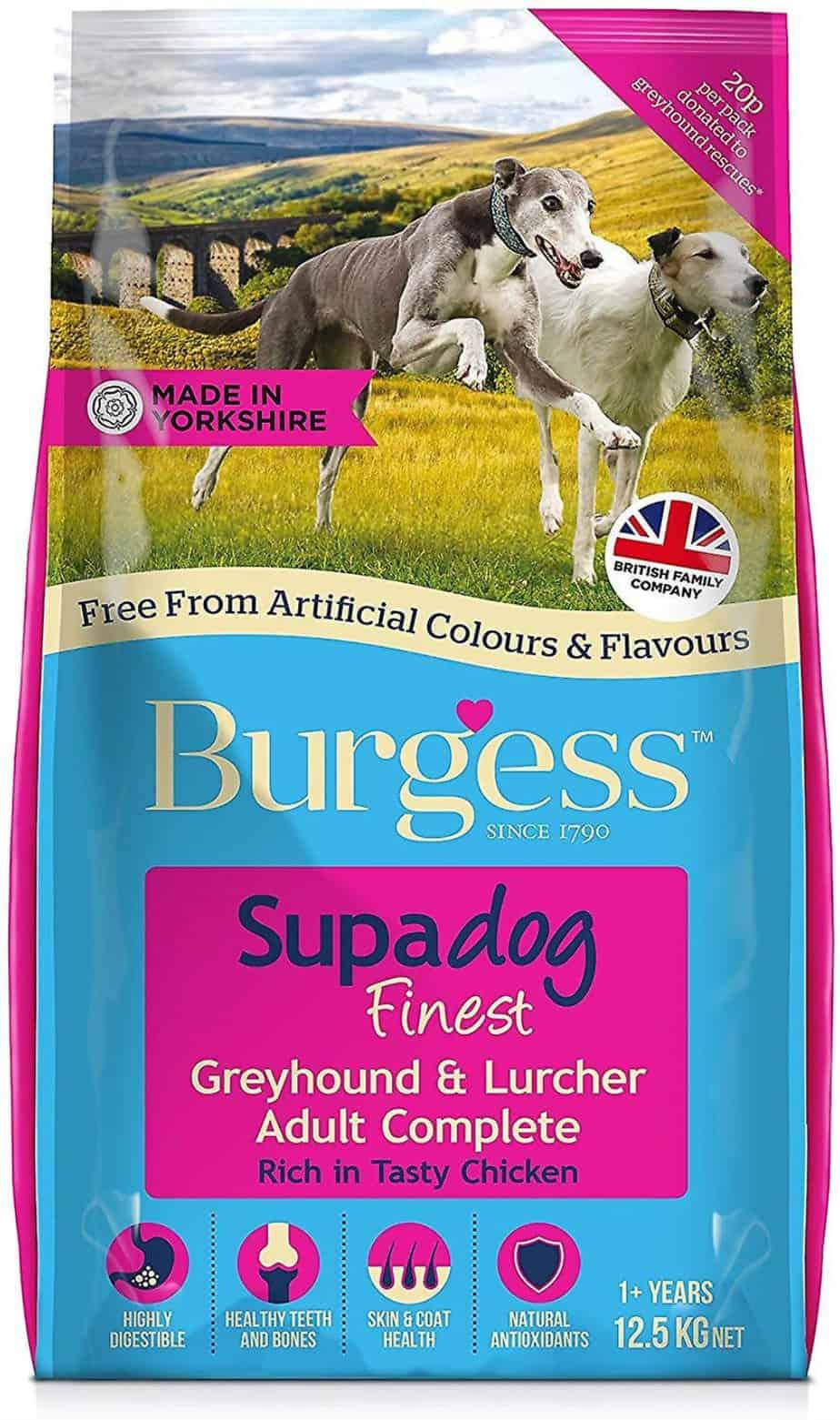 Burgess SUPADOG Greyhound& Lurcher 12,5kg