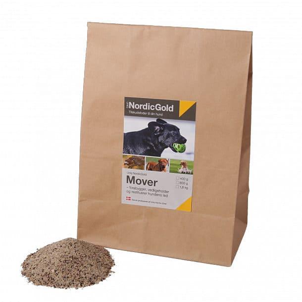 Mover - fodertilskud der forebygger, vedligeholder og restituerer hundens led – indeholder glucosamin