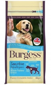 Burgess SENSITIVE Puppy Kalkun