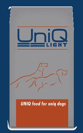 UniQ Light - fuldfoder til ældre hunde, som er overvægtige