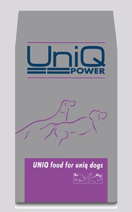 UniQ Power - foder til hunde med stort energibehov